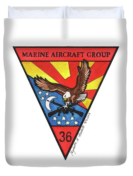 Mag-36 Patch Duvet Cover