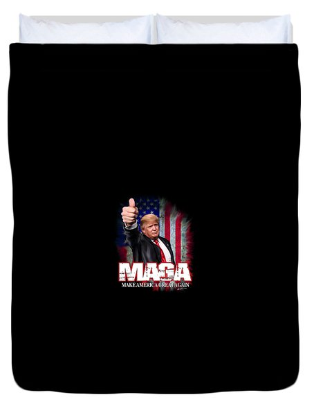 Duvet Cover featuring the photograph Maga by Don Olea