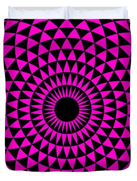 Magenta Balance Duvet Cover