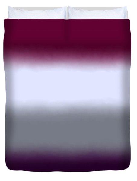 Magenta Purple - Sq Block Duvet Cover