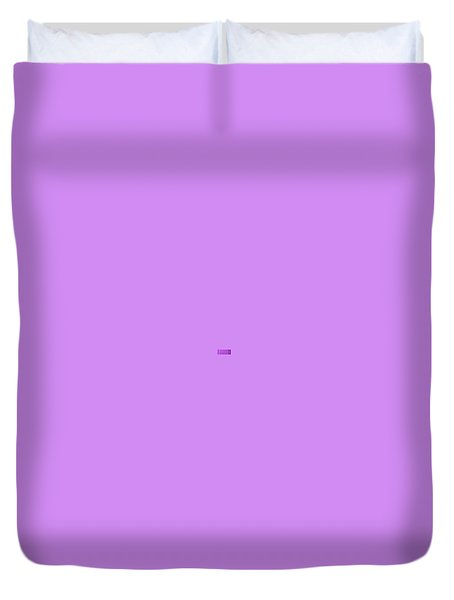Magenta Waves  Duvet Cover by Margalit Romano
