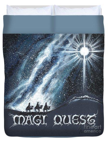 Magi Quest Duvet Cover