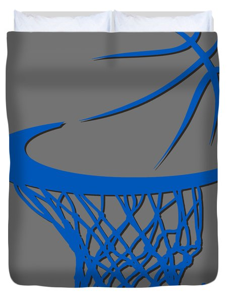 Magic Basketball Hoop Duvet Cover