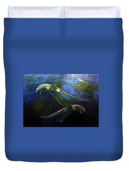 Magic Fish Duvet Cover