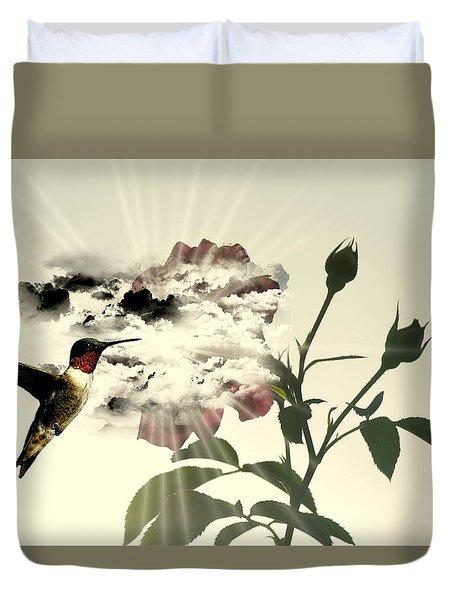 Magic Flower Duvet Cover by Paulo Zerbato