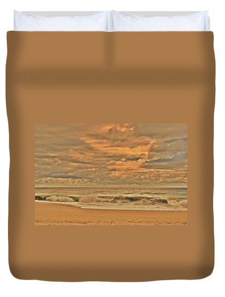Magic In The Air - Jersey Shore Duvet Cover