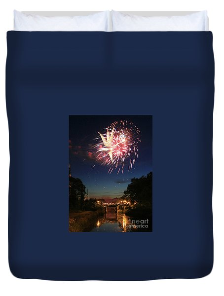 Magic In The Sky Duvet Cover