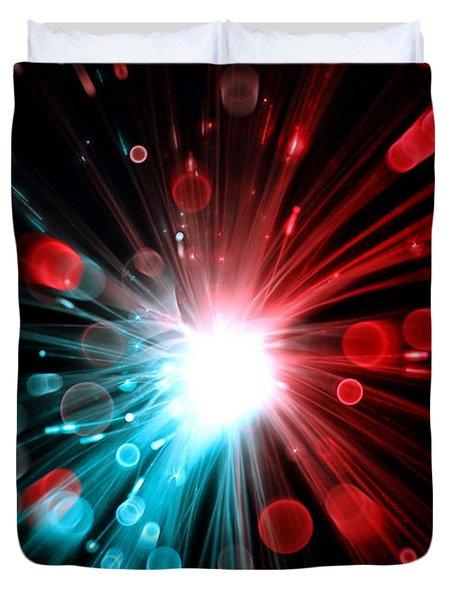 Magic Lights Duvet Cover