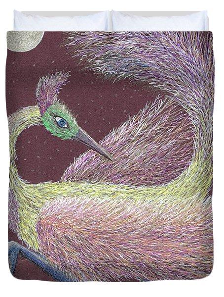 Magic Moon Dance Duvet Cover