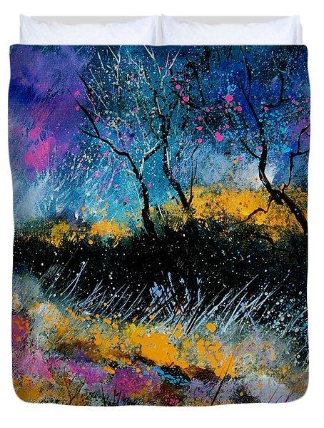 Magic Morning Light Duvet Cover by Pol Ledent