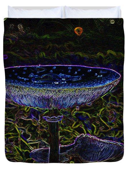 Magic Mushroom Duvet Cover by David Lee Thompson