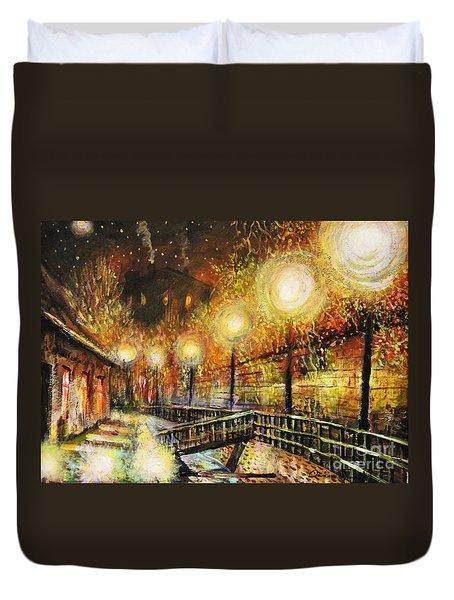 Magic Night Duvet Cover