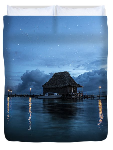 Magic Of A Night Duvet Cover by Yuri Santin