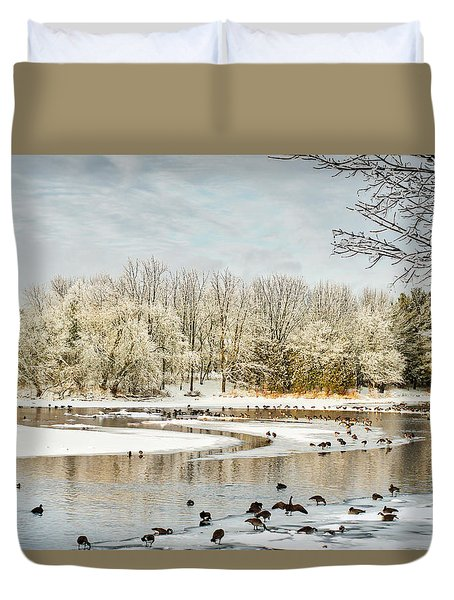 Magic Of Winter Duvet Cover