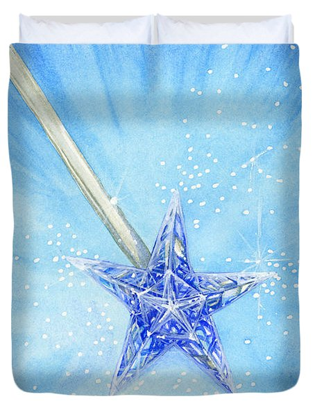 Magic Wand Duvet Cover