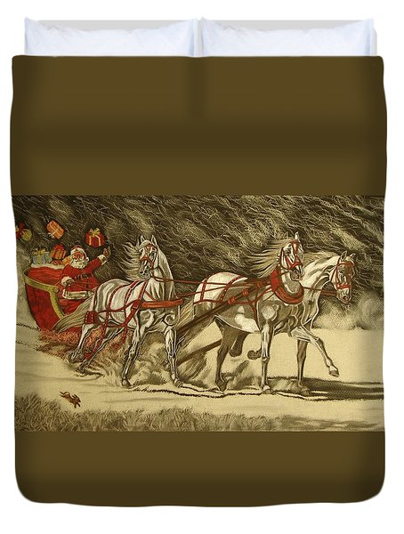 Magical Christmas Duvet Cover