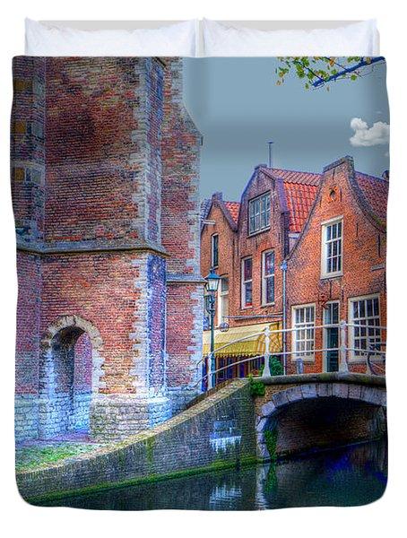 Magical Delft Duvet Cover