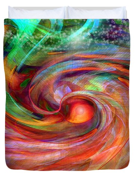 Magical Energy Duvet Cover