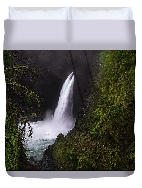 Magical Falls Duvet Cover
