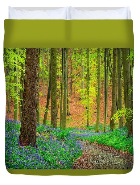 Magical Forest Duvet Cover by Maciej Markiewicz