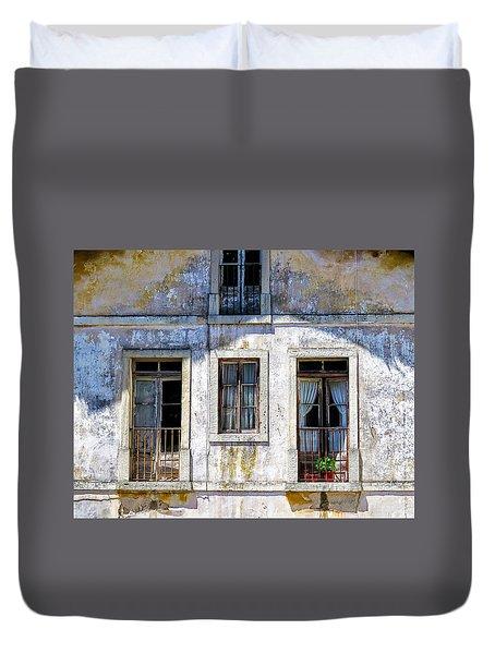 Magical Light On Sintra Windows Duvet Cover