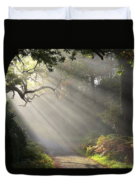 Magical Moment In The Park Duvet Cover