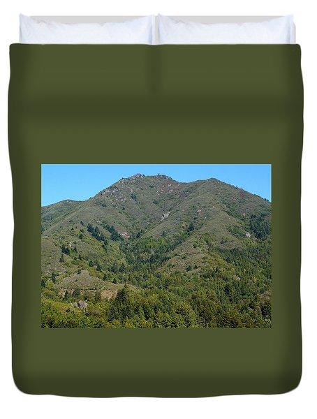 Magical Mountain Tamalpais Duvet Cover by Ben Upham III