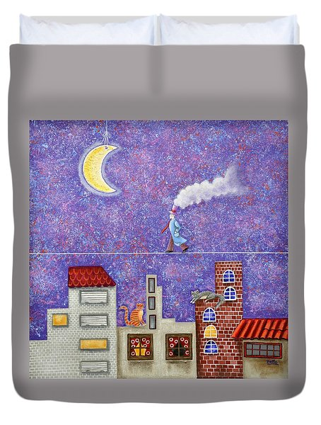 Magical Night Duvet Cover