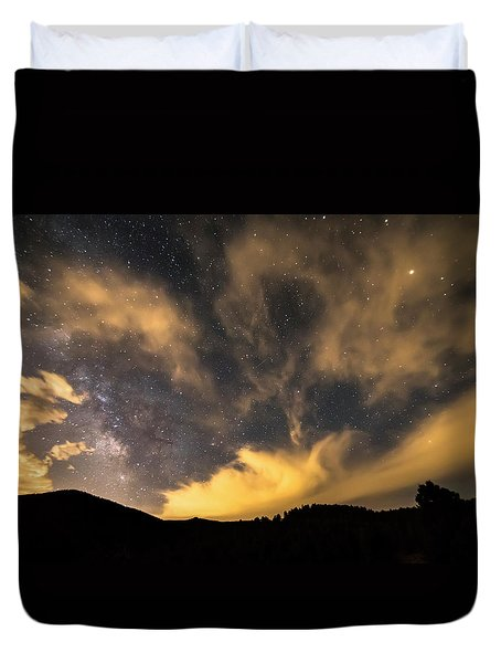 Duvet Cover featuring the photograph Magical Night by James BO Insogna