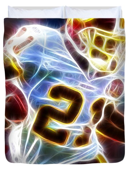 Magical Sean Taylor Duvet Cover by Paul Van Scott