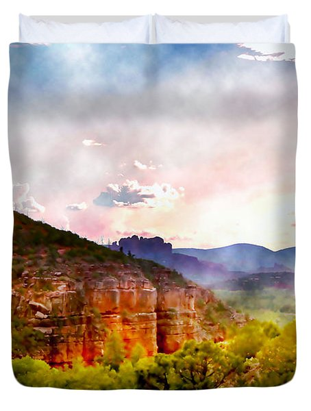 Magical Sedona Duvet Cover