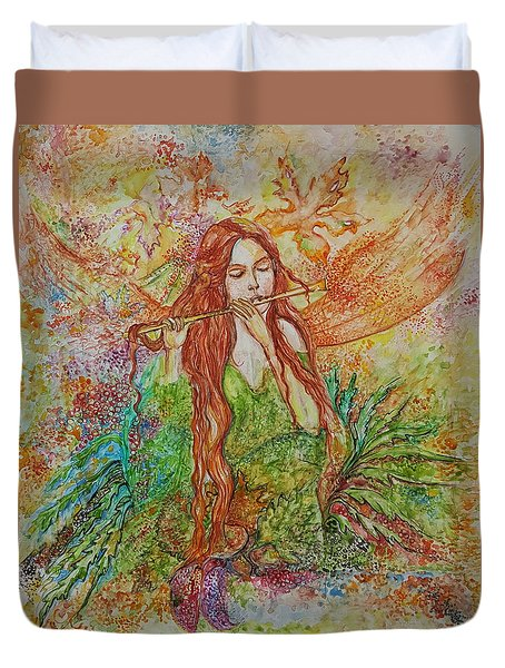 Magical Song Of Autumn Duvet Cover