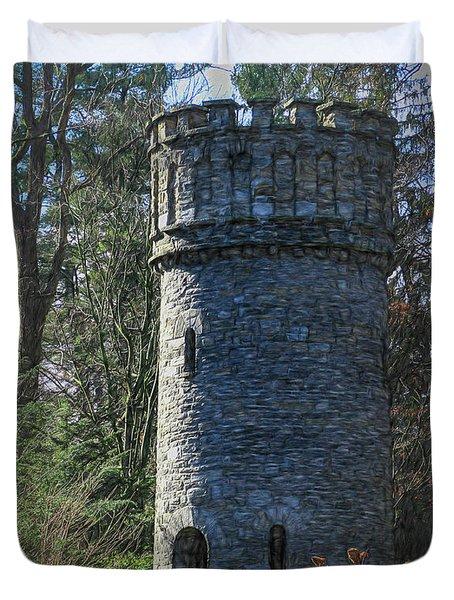 Magical Tower Duvet Cover