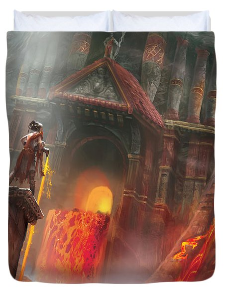 Magmatic Insight Duvet Cover