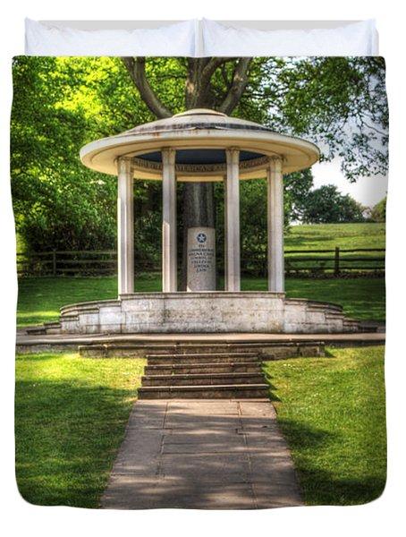 Magna Carta Memorial Duvet Cover