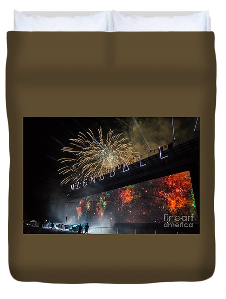 Magnaball Finale Duvet Cover