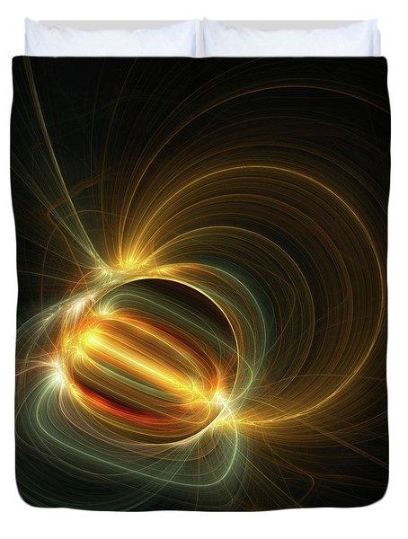 Magnetic Field Duvet Cover