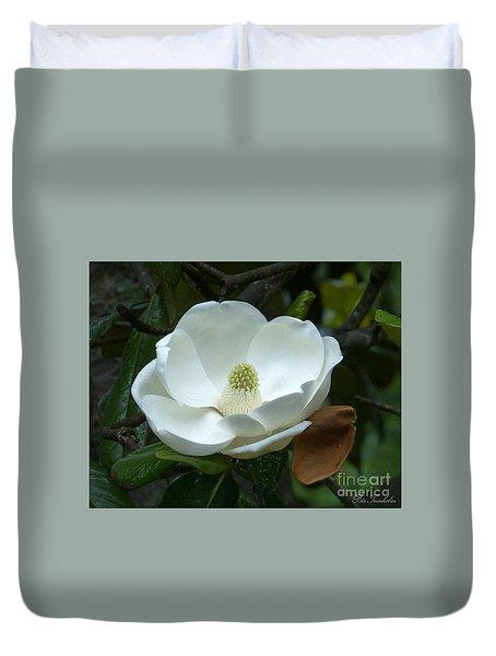 Magnificant Magnolia Duvet Cover