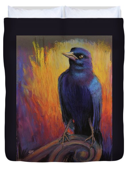 Magnificent Bird Duvet Cover