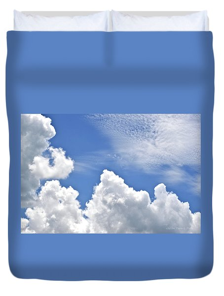 Magnificent Clouds Duvet Cover