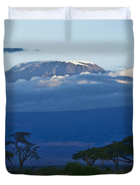 Magnificent Kilimanjaro Duvet Cover