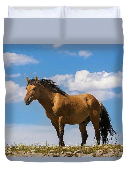 Magnificent Wild Horse Duvet Cover