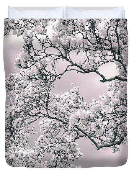 Magnolia Blush Duvet Cover