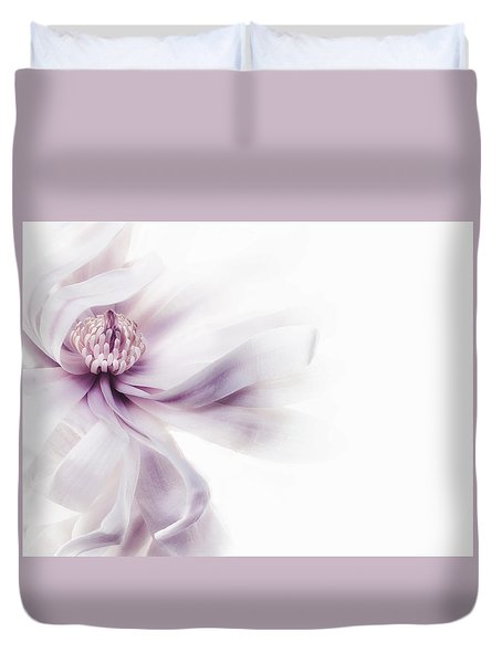 Magnolia Breeze Duvet Cover by Rebecca Cozart