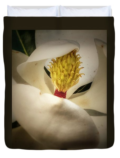 Magnolia Flower Duvet Cover