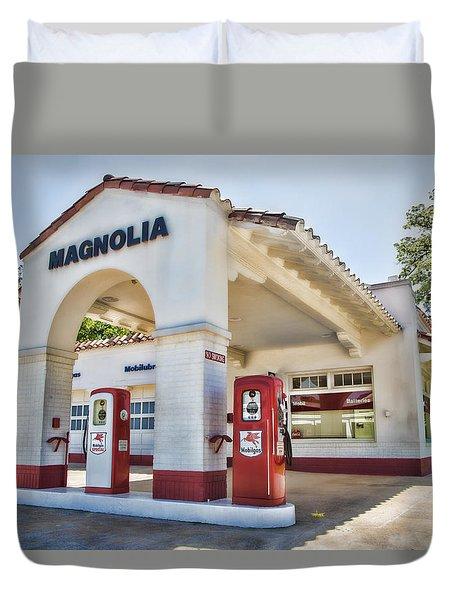 Magnolia Gas - Little Rock Duvet Cover