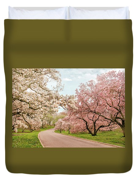 Magnolia Grove Duvet Cover by Jessica Jenney