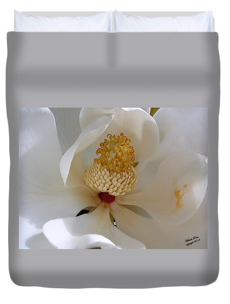 Magnolia Happiness Duvet Cover