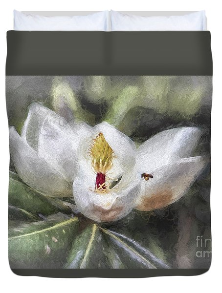 Magnolia Harvest Duvet Cover
