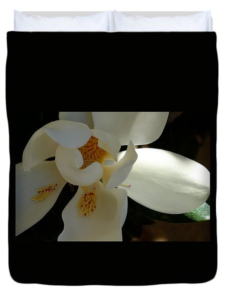 Magnolia Heart Duvet Cover